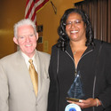 President, Tom Harris &Instructor Lisa Legohn :: Los Angeles Trade Technical College