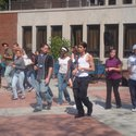Salsa Dance Lessons in the Quad :: Saint Peter's University