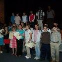 A.L Corbett Middle school 6th grade Beta club members gather in auditorium for induction :: A L Corbett Middle School