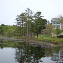KOSC from the pond :: Gordon College
