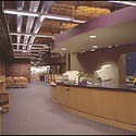 Library interior :: University of New Hampshire at Manchester