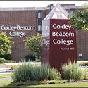 College entrance :: Goldey-Beacom College