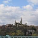 Georgetown University from Key Bridge :: Georgetown University