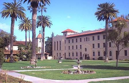 Santa Clara University Campus Map Campus Santa Clara