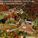 Campus - Aerial view :: Nichols College