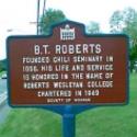sign :: Roberts Wesleyan College