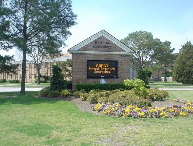 Campus :: Hampton University Crest :: Hampton University Part 84