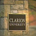 sign :: Clarion University of Pennsylvania