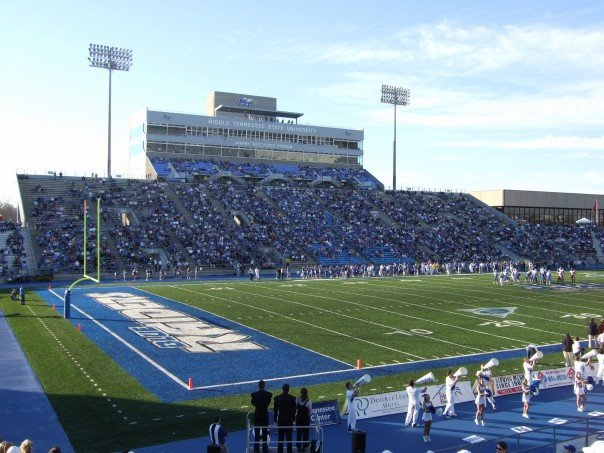 Middle Tennessee State University 2 Floyd Stadium :: Middle Tennessee State  University ... Part 91