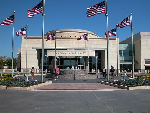 ... President George Bush Library :: Texas A U0026 M University College Station  ...
