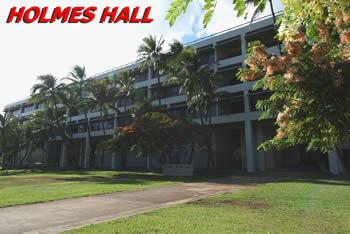 Elegant Holmes Hall :: University Of Hawaii At Manoa ...