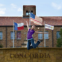 Kelley loves Concordia :: Concordia University-Texas