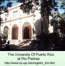 University of Puerto Rico-Rio Piedras