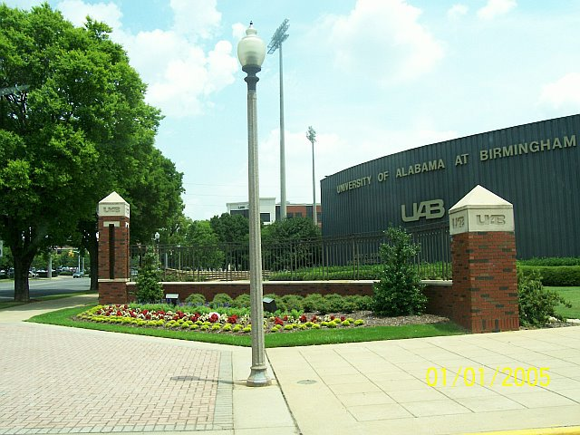 Beautiful Campus Welcome :: University of Alabama at Birmingham
