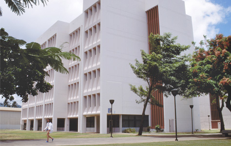 College building :: Honolulu Community College