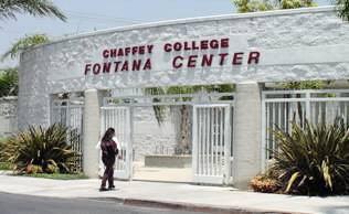 College entrance :: Chaffey College