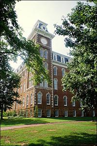 Old main building :: University of Arkansas