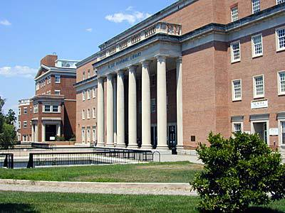 R. Lee Horn bake library :: University of Maryland-College Park