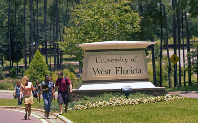 Entrance to the UWF main campus. :: The University of West Florida