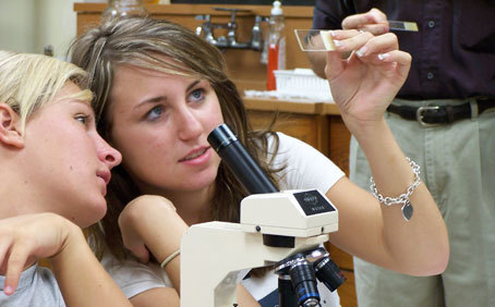 Vol State biology class :: Volunteer State Community College