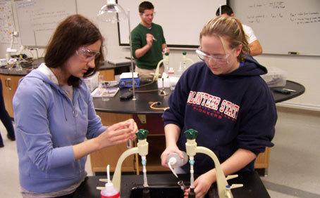 Vol State chemistry lab :: Volunteer State Community College
