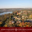 Aerial View of Concordia University Ann Arbor :: Concordia University-Ann Arbor