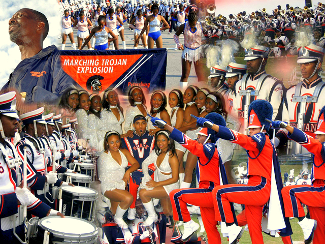 Virginia State University Trojan Explosion Marching Band :: Virginia State University