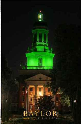 Judge Baylor Statue & Pat Neff Hall :: Baylor University