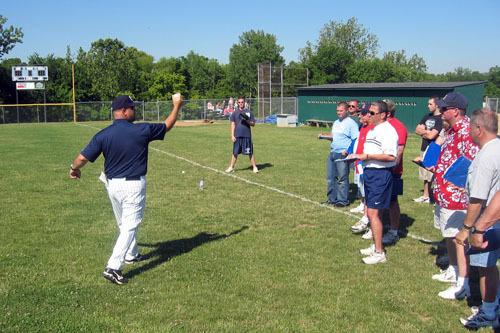 Missouri Baptist baseball coach Eddie :: Missouri Baptist University