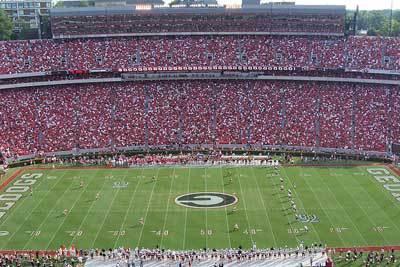 University of Georgia Stanford Stadium :: University of Georgia