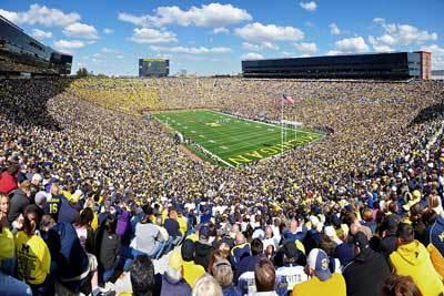 Michigan Stadium :: University of Michigan-Ann Arbor