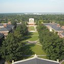 Academic Quad from Above :: University of Rochester