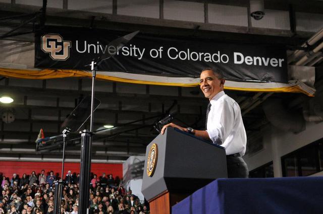 obama :: University of Colorado Denver/Anschutz Medical Campus