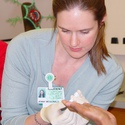 Students learns phlebotomy skills :: Carolinas College of Health Sciences