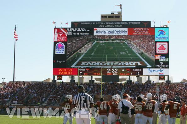 Longhorn Scoreboard :: The University of Texas at Austin