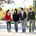 Students on Campus :: Huntington University