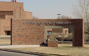 Entrance :: Eastern New Mexico University-Main Campus