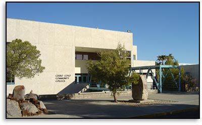 College building :: Cerro Coso Community College