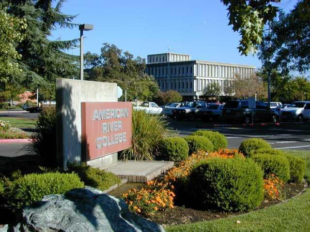 College entrance :: American River College