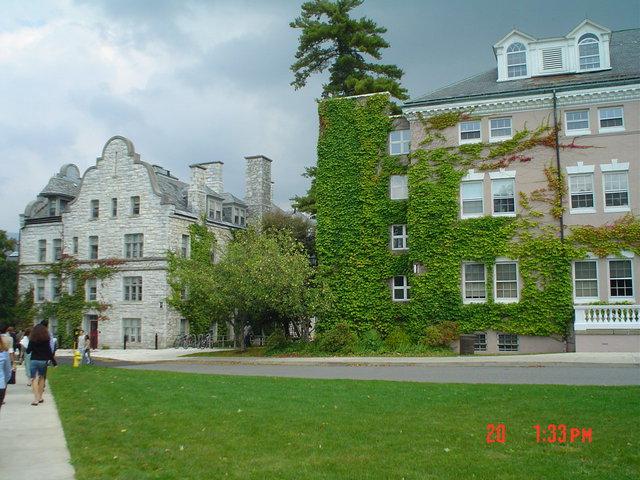 College building :: Williams College