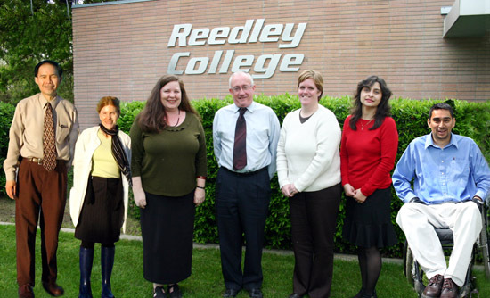 College entrance :: Reedley College