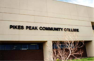 College building :: Pikes Peak Community College