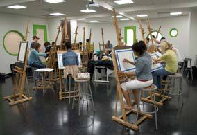 Class room :: Savannah College of Art and Design