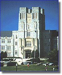 College building :: Virginia Polytechnic Institute and State University