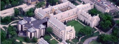 Campus - Aerial view :: Dominican University