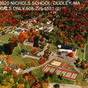 Campus - Aerial view :: Nichols College