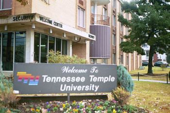 sign :: Tennessee Temple University