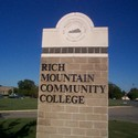 sign :: Rich Mountain Community College
