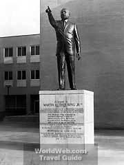 statue :: Morehouse College