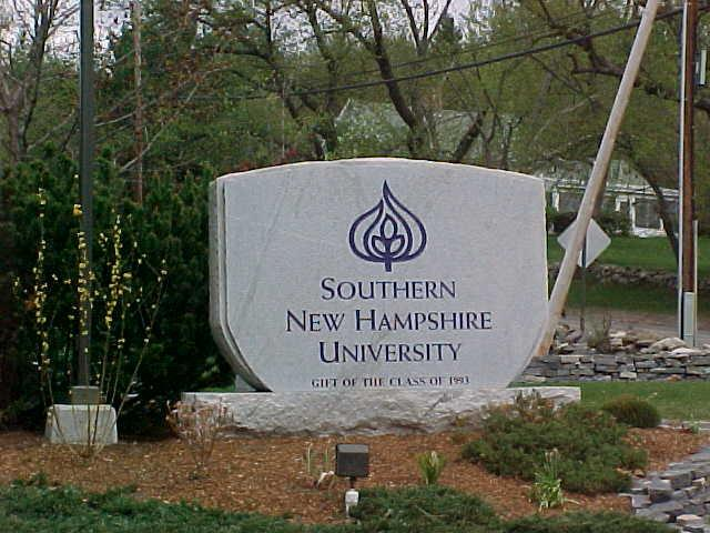 sign :: Southern New Hampshire University